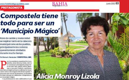 """Compostela, un """"Municipio Mágico"""": Alicia Monroy"""