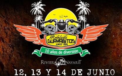 Motofiesta Guayabitos 2015, ¡diversión sobre ruedas!