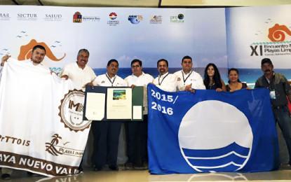Riviera Nayarit refrenda liderazgo en Playas Limpias Certificadas