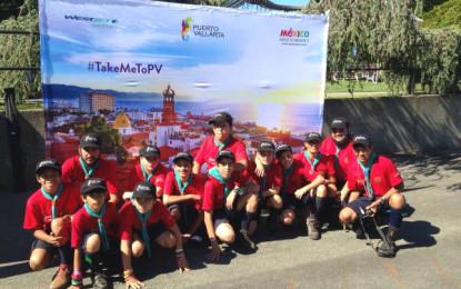 Boy Scouts hacen promoción de Puerto Vallarta en Canadá