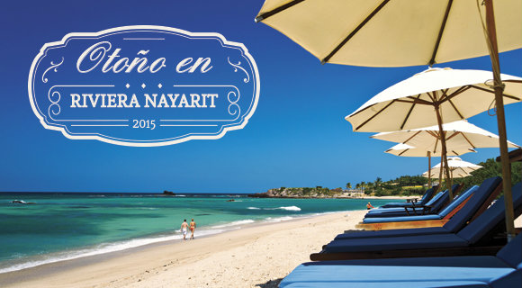 Lanzan Promociones de Otoño en Riviera Nayarit