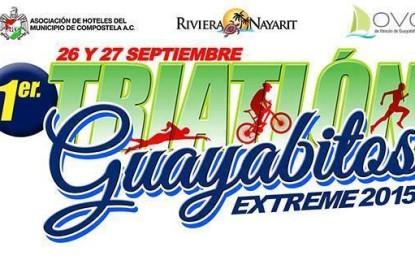 Todo listo para 1er Triatlón Extreme Guayabitos 2015