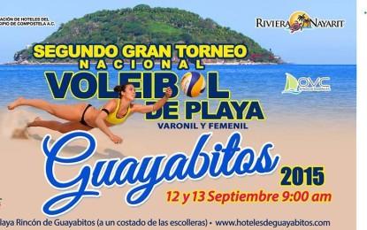 Segundo Gran Torneo Nacional de Voleibol de Playa Guayabitos 2015