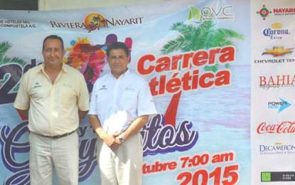 Grandes premios en la 2da Carrera Atlética 5 y 10K Guayabitos 2015