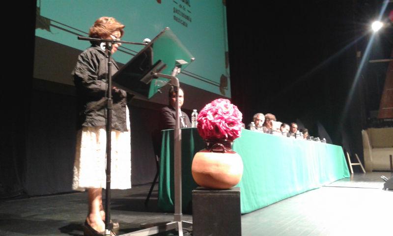 Dra. Gloria López Morales, presidenta del Conservatorio de la Cultura Gastronómica Mexicana