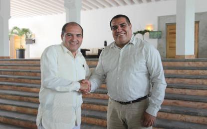 Ayuntamientos de PV y Bahía trabajarán unidos