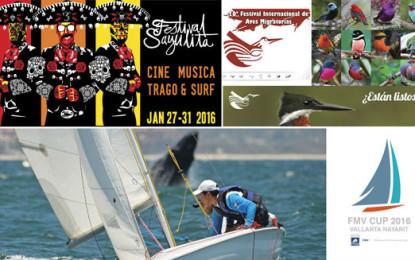 Riviera Nayarit iniciará 2016 con importantes eventos