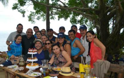 El cumpleaños de Luis Villaseñor Nolasco