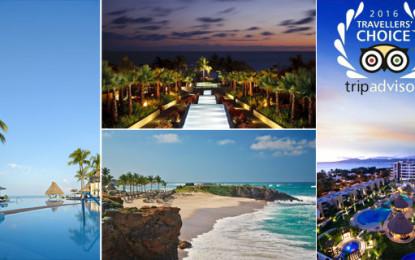 Hoteles de Riviera Nayarit en los Travellers' Choice 2016 de TripAdvisor