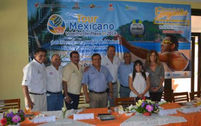 Rincón de Guayabitos recibe a los mejores voleibolistas de México