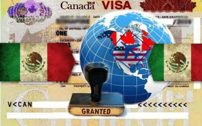 Canadá eliminará visa para mexicanos