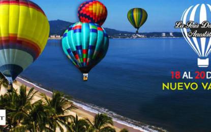 """""""Volará"""" Riviera Nayarit con La Feria del Globo Aerostático"""