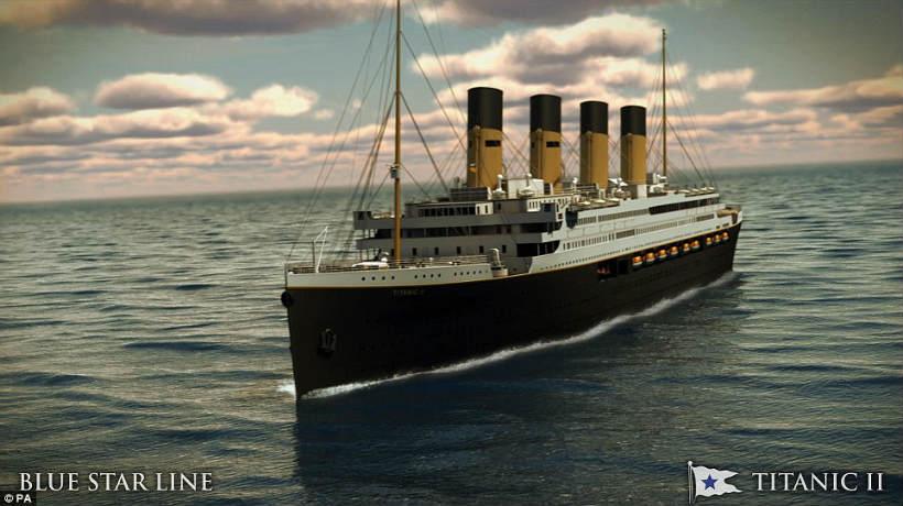 Titanic II zurcará los mares en 2018
