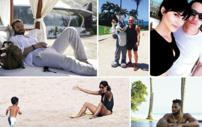 Celebridades vacacionaron en Riviera Nayarit