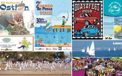 Apasionantes eventos en abril en Riviera Nayarit
