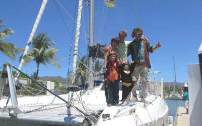 Da la vuelta al mundo tripulación que salió de la Cruz de Huanacaxtle