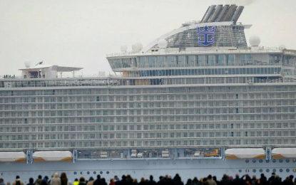 """El """"crucero más grande del mundo"""" navegará a partir de mayo"""