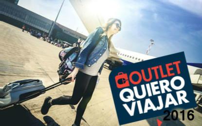 """Anuncian grandes ofertas en la 4ta edición del outlet """"Quiero Viajar"""""""