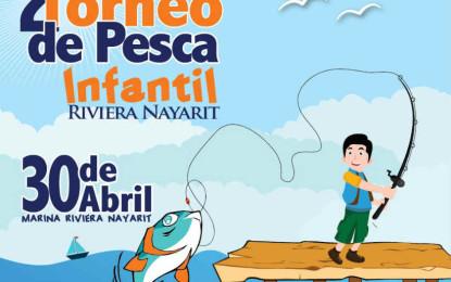 Invitan al 2° Torneo de Pesca Infantil Riviera Nayarit 2016