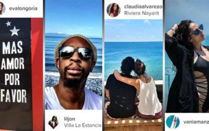 Eva Longoria, Lil Jon y más famosos en la Riviera Nayarit