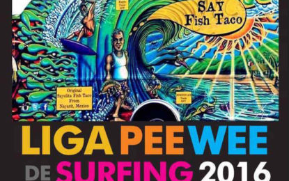 Arranca la Liga PeeWee de Surfing 2016