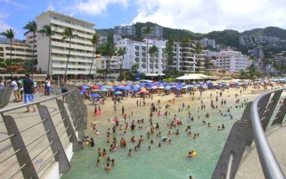 Crece Turismo en México casi el doble de la tasa mundial