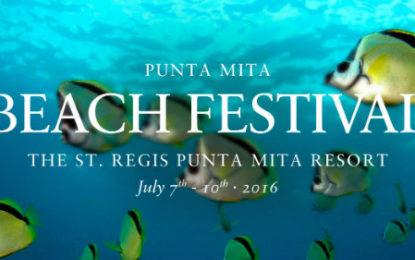 Yoga, Surf y Gastronomía en el IV Punta Mita Beach Festival