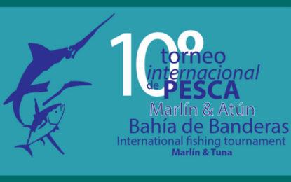 Anuncian el 10° Torneo Internacional de Pesca de Bahía de Banderas