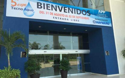 En marcha la 5ta Expo Tecno Agua Puerto Vallarta