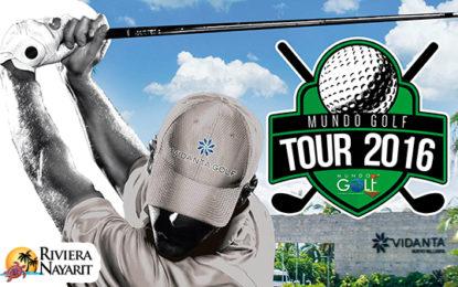 Riviera Nayarit es 3era sede de la gira Mundo Golf Tour 2016