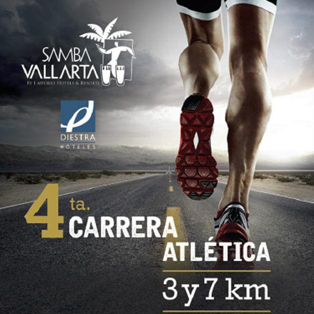 Ya viene la  4ª Carrera Atlética 3-7K Flamingos en Riviera Nayarit