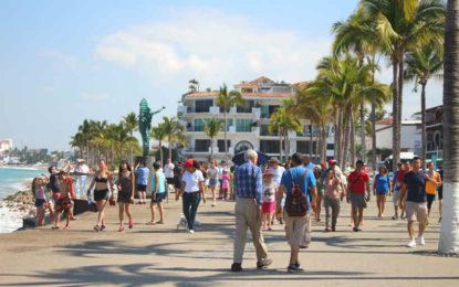 Sectur reporta alza en número de visitantes extranjeros