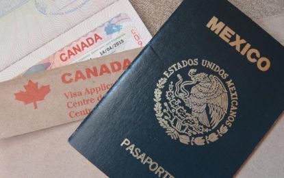 A partir del 1º de diciembre Canadá elimina visa para mexicanos