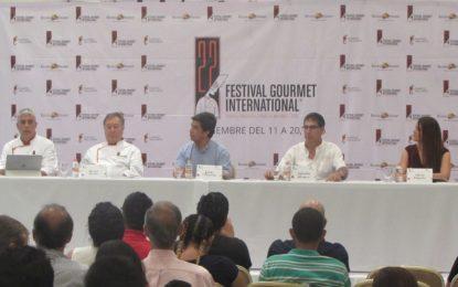 22 años de tradición: XXII Festival Gourmet Internacional 2016