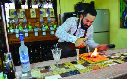 Israel Díaz, Alquimista de la Coctelería