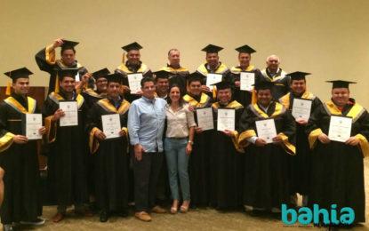 Concluyen Diplomado en Seguridad miembros de la AHMBB