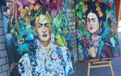Estudiantes de Artes Visuales del CUCosta exponen su talento