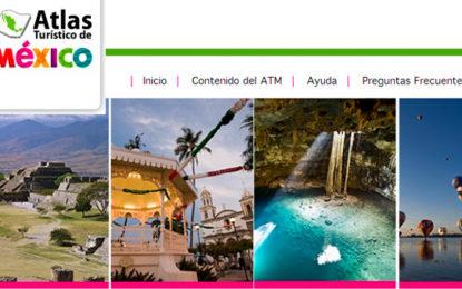 Atlas Turístico de México en una app
