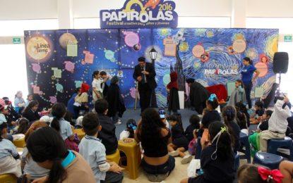 """Congrega """"Papirolas"""" a más de mil niños y jóvenes en CUCosta"""