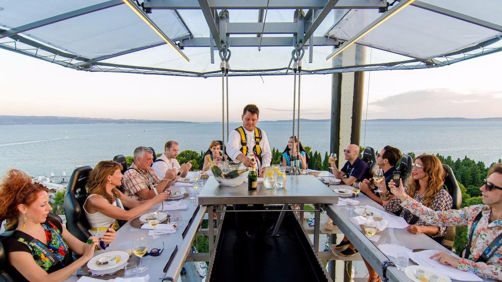 Dinner in the Sky llegará en febrero a Puerto Vallarta