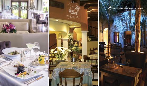 Fueron ratificados por segundo año consecutivo: Restaurante El Delfín del hotel Garza Canela de San Blas, Restaurante Carolina de The St. Regis Punta Mita Resort de Bahía de Banderas y Restaurante Emiliano Cocina y Vino de Tepic.