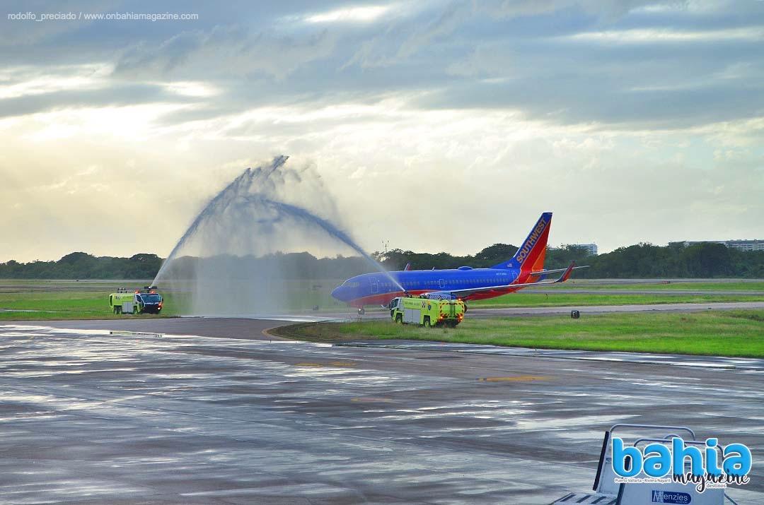 Southwest Airlines inaugura vuelo directo desde Los Ángeles