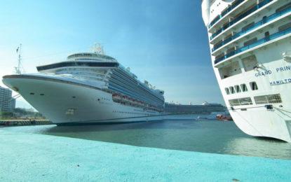 Triple arribo de cruceros marca el inicio de un gran año para PV