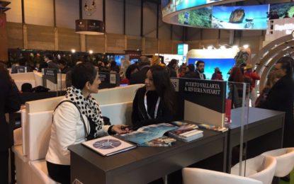 Fortalece Puerto Vallarta contactos con agencias, aerolíneas y medios europeos en la Fitur 2017
