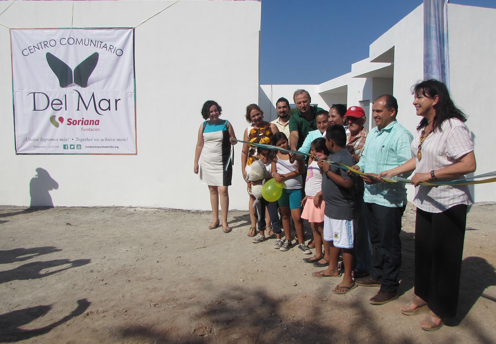 Inauguran Centro Comunitario en Punta de Mita