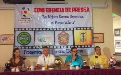 Calendario de 16 eventos deportivos dejará en Puerto Vallarta más de 239 mdp