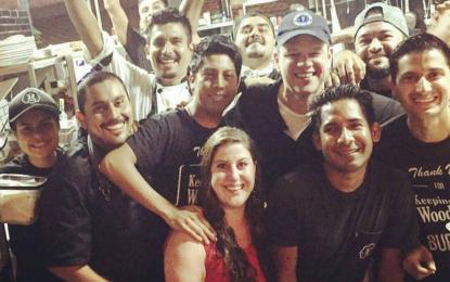 Matt Damon y otros famosos en Riviera Nayarit