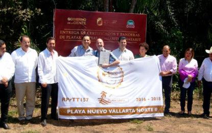 Mantiene Riviera Nayarit liderazgo en playas limpias