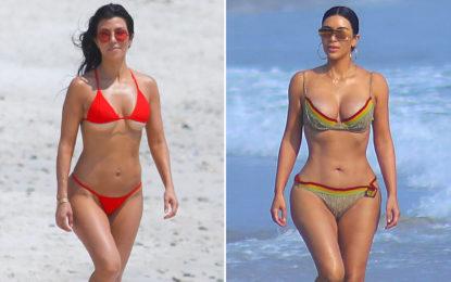 Vuelven las Kardashian a vacacionar en Riviera Nayarit