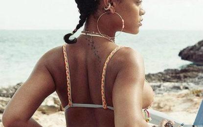 La cantante Rihanna vacaciona en Riviera Nayarit